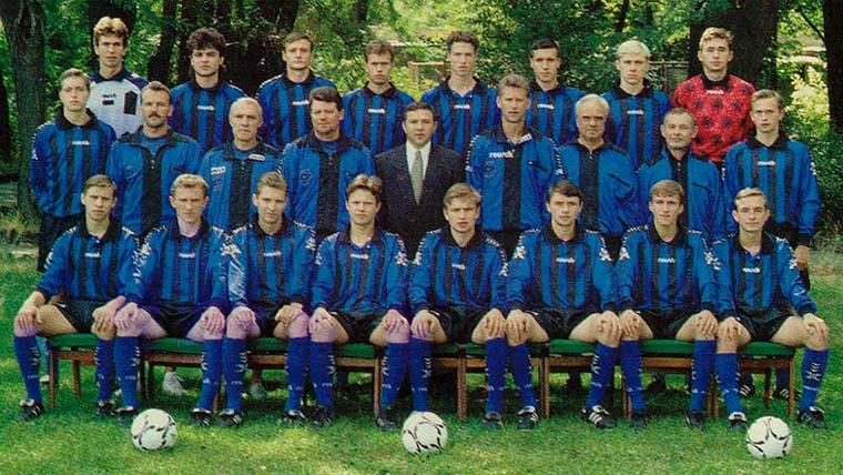 Черноморец 1995-96